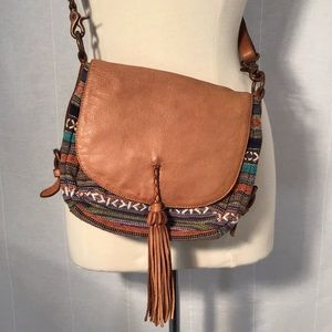 OLD TREND Cross Body Bag Boho Tribal Western Purse